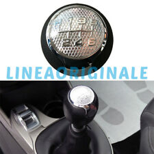 Pomello Cambio 6 marce ORIGINALE Alfa Romeo MiTo EcoPelle Retromarcia Avanti