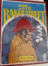 221 B Baker Street Master Dectective Board Game Sherlock Holmes New and Sealed