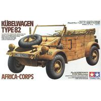 Tamiya 35238 German Kuebelwagen Type 82 Africa-Corps 1/35