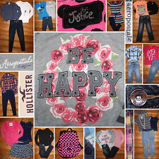 Girls Size 10/12 Back To School Fall Clothes Lot, Tops, Jeans, Free Backpack!