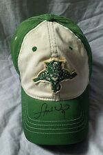 Signed Stephen Weiss Florida Panthers NHL Reebok Green Baseball Cap Hat Shamrock