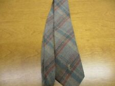 Yves St. Lauren Heather Mist Tie Made for Hutzler's Mens Store of Maryland