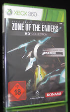 XBOX 360 ZONE OF THE ENDERS - HD COLLECTION - USK 18 - KONAMI - DEUTSCH * NEU *