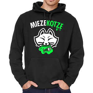 MIEZEKOTZE Miezekatze Katze Cat Bayern Bayrisch Comedy Kapuzenpullover Hoodie