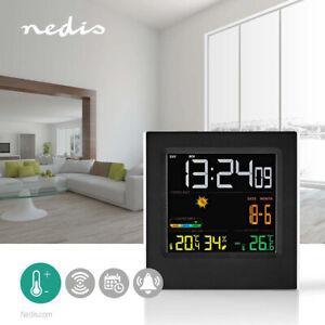 Station  météo Intérieur et extérieur Y compris capteur météo sans fil Écran LCD