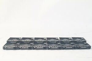 """Dell TW13J 2.5"""" HDD Blanks - Hard Drive Caddies - Blank Filler - Lot of 12"""