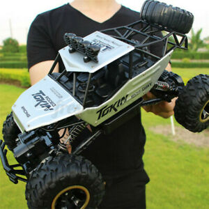 4WD 1/12 RC Monster Truck Off-Road 2.4G Remote Control Crawler Electric Cars