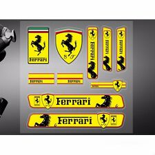 Car Sticker Logo Racing Motor Sports for Ferrari