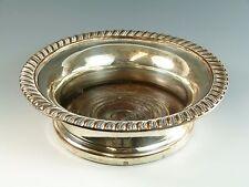 Old Sheffield Plate - Large Vintage COASTER - Georgian / Regency