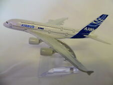 16CM A380 AIRBUS AIRLINE METAL PLANE MODEL DIECAST TOY DESKTOP AIRBUS AEROPLANE