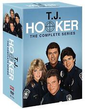 T.J. Hooker: Complete Series Seasons 1-5 (DVD 2017 21-Disc Box Set) 1 2 3 4 5 TJ
