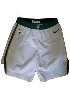 Marcus Smart Boston Celtics Nike White NBA Authentic Game Worn Shorts Size 40