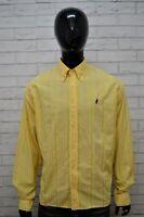 Camicia Uomo MARLBORO CLASSICS Taglia XL Manica Lunga Shirt Man Maglia Casual