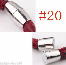 NEW 5 Sets DIY Silver Plated Tone Strong Magnetic Clasps Hooks Jewelry Finding