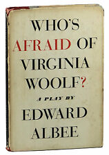 Who's Afraid of Virginia Woolf? ~ SIGNED by EDWARD ALBEE ~ Hardcover 1962