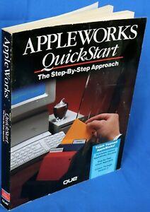 Apple II IIe IIc IIgs AppleWorks QuickStart