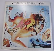 "DIRE STRAITS : ALCHEMY Live Double Album Vinyl LP 33rpm 12"" Excellent"