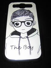 The Boy Hard Cover Case for Samsung Galaxy S3 III Boy Hoodie Glasses On
