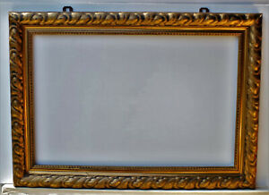 Antiker Barockrahmen Prunkrahmen Gemälderahmen Museumsrahmen  FM: 75 x 50  cm