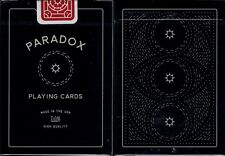 Paradox Playing Cards Poker Size Deck USPCC Custom Limited Edition New Sealed