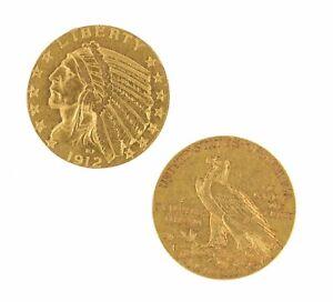 $5 Half Eagle Indian Head Jewelry Raw Gold (Random Year)