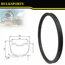 Stronger 26er 40mm width mtb carbon rim tubeless compatible for AM and DH Enduro