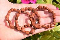 CHARGED Red Goldstone Crystal Bracelet Tumble Polished Stretchy REIKI