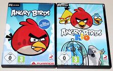2 PC SPIELE BUNDLE - ANGRY BIRDS & ANGRY BIRDS RIO - CD ROM