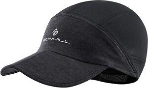 Ronhill Split Air Lite Lightweight Running Sports Cap - Charcoal/Black *NEW*