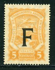 Colombia MNH Specialized SCADTA Consular: Scott #CLF81 5c FRANCE $$$