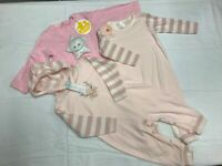Baby Grow Babe With The Power Red and White Stripe