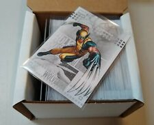 2014 Marvel NOW! Trading Cards Complete Silver Foil Parallel Set 1-100 Free Ship