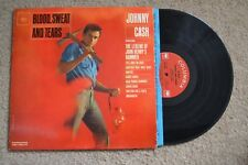 Johnny Cash Blood, Sweat And Tears Country mono Record LP VG++