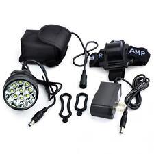 15000Lm 9x CREE XM-L T6 LED Bicycle Torch Cycling Flashlight Headlamp Battery