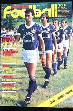 France Football du 21/2/1984; Louis Fonteneau/ Coupe de France/ Gardiens/ Falcao