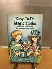Rare 1984 Pbk Easy-To-Do Magic Tricks Weekly Roz Abisch Boche Kaplan Weekly Rdr