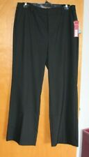 Women's MERONA Stretch Fit 1 Size 10 Casual Dress Career Pants Relaxed Fit NWT