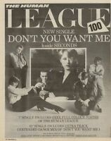Human League '45 advert 1981