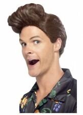 Goofy Nineties Detective Costume Wig Ace Ventura Pet 90s Zany PI Funny Guy Jim