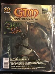 Game Trade Magazine #225 New Sealed NM Other Side W/ Cards Starfinder D&D