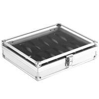 Boîte À Montres En Aluminium Utile Boîte de Stockage D'Affichage de Montres E8C1