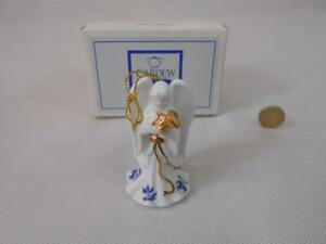 Paul Cardew Blue - Angel,Playing French Horn, Christmas Tree Ornament.