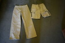Khaki pants Chaps size 16 boys Unionbay youth medium beige Shorts school uniform