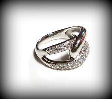 Gr. 16 Fossil Ring Damenring Silber 50 (15,9 mm Ø) JF16485040