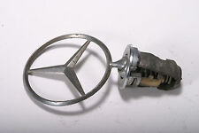 Mercedes Benz Chrome Hood Star Emblem, Part # 124 880 00 86, fits many models