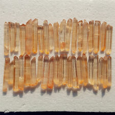 40pcs 537g Natural Lemurian Seed Quartz Crystal Pointy  y1668