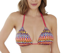 Lepel Triangle Bikini Top Rainbow Beach Sizes 8 14 16 14 Mulit