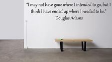 Vinyl Wall Decal Sticker Room Decor Saings Quotes Motivation Douglas Adams F2019