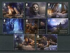 Jersey 2018 MNH Mary Shelley Frankenstein 8v Set Writers Literature Stamps