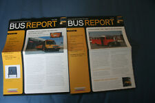 school bus fleet Bus Reports Fall 2007, Winter 2008 and Bus Ride 8/2007,1/2008